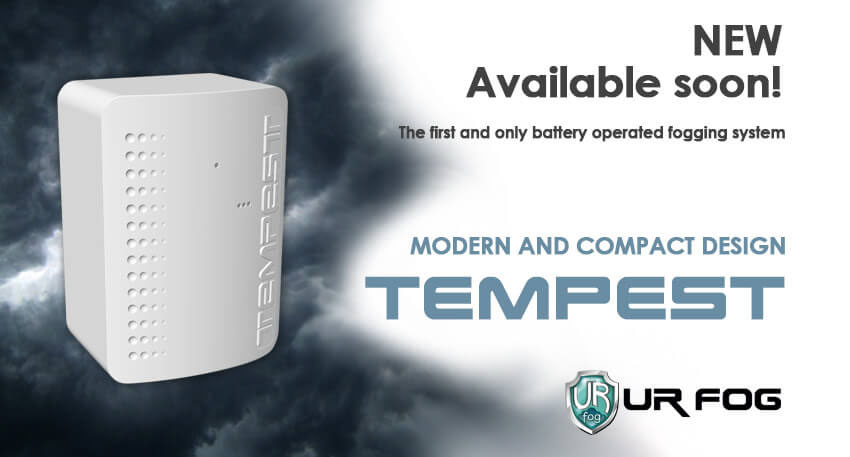 Anti-intrusion – Tempest the first and unique battery-operated fog system
