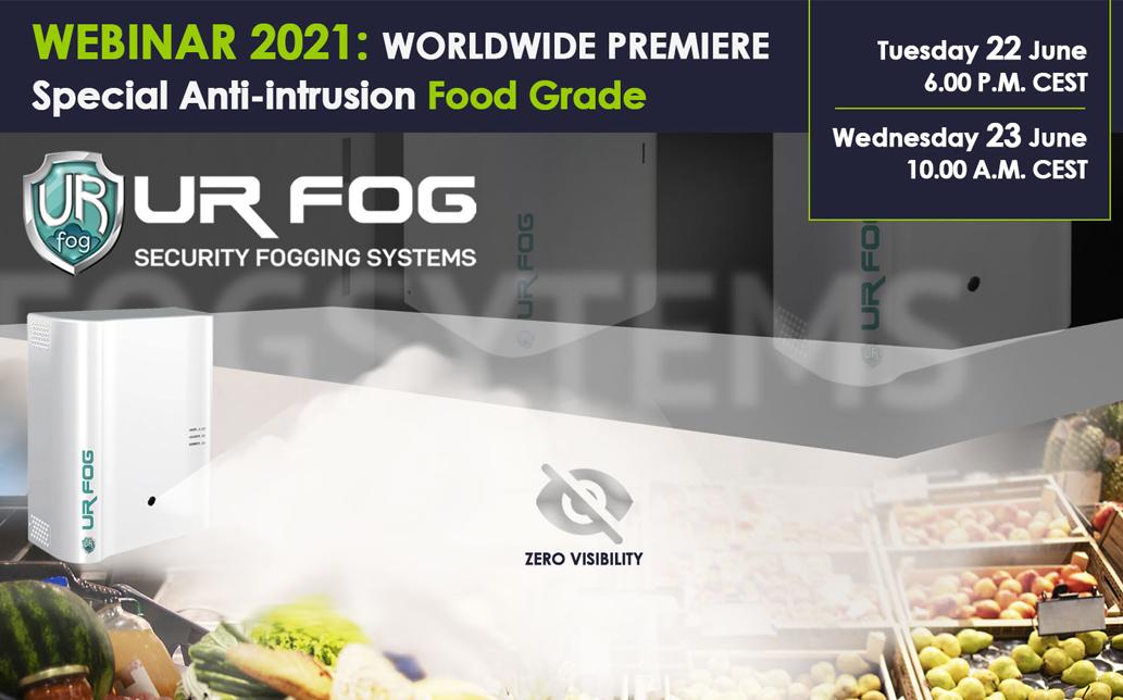 Webinar food grade anti-intrusion UR Fog